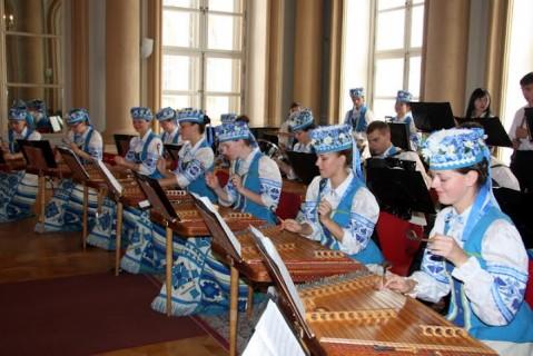 Народный оркестр белорусских народных инструментов